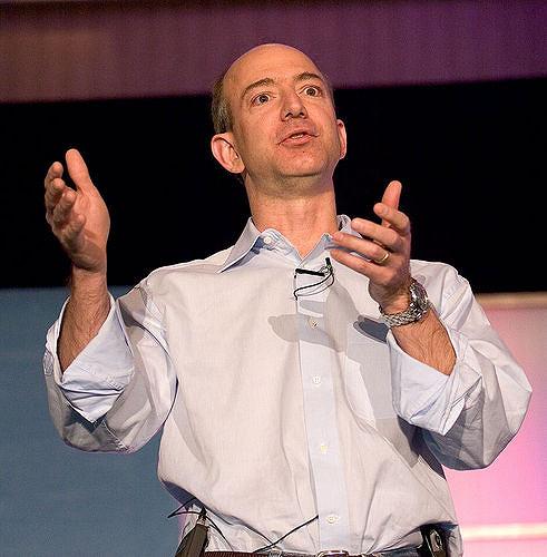Persone di Successo Jeff Bezos