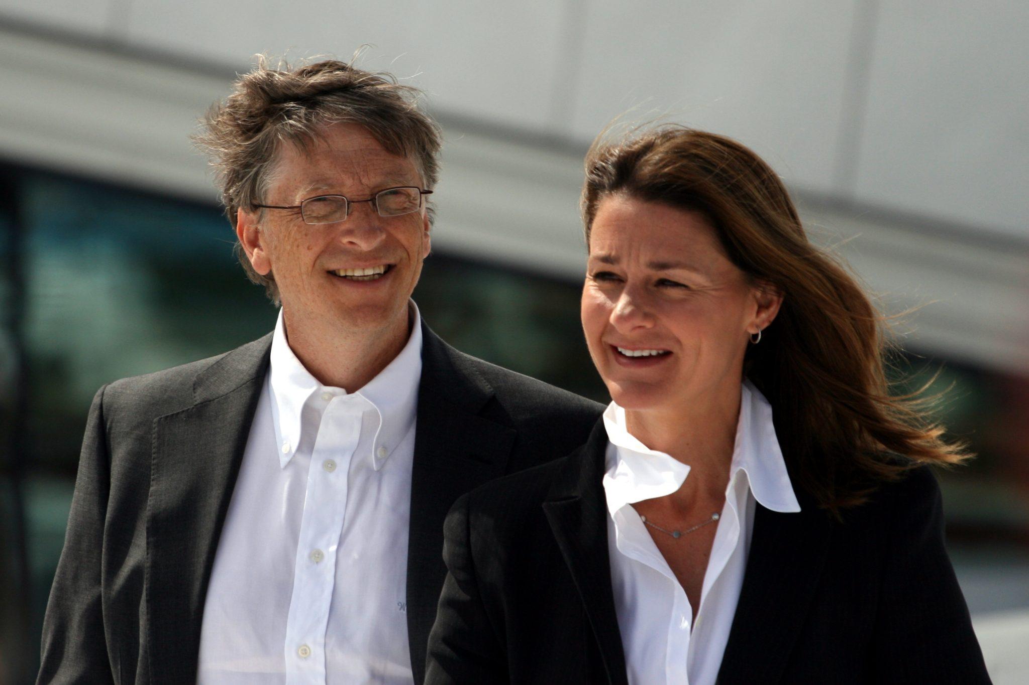 Persone di Successo Bill e Melinda Gates