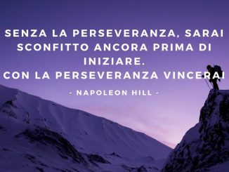 Perseveranza - Napoleon Hill - Modelli di Successo