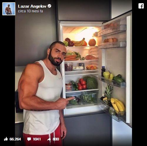 Lazar Angelov Frigorifero Cibo Alimentazione Dieta