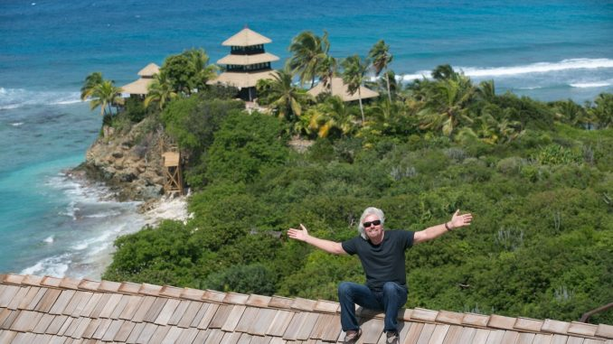richard branson isola di necker