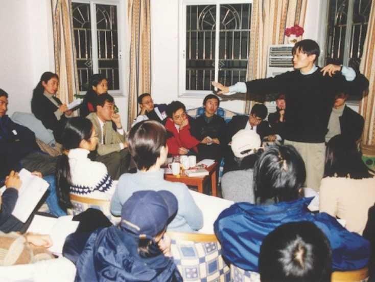 Jack Ma riunione nel suo appartamento