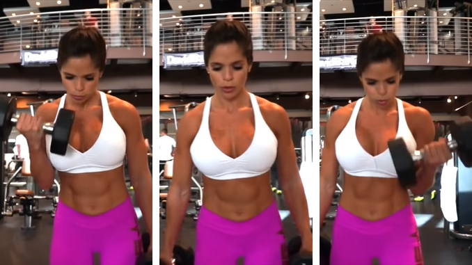 Michelle Lewin - Alternate Dumbbell Curl