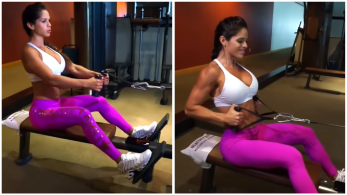 Michelle Lewin - Seated Cable Rows