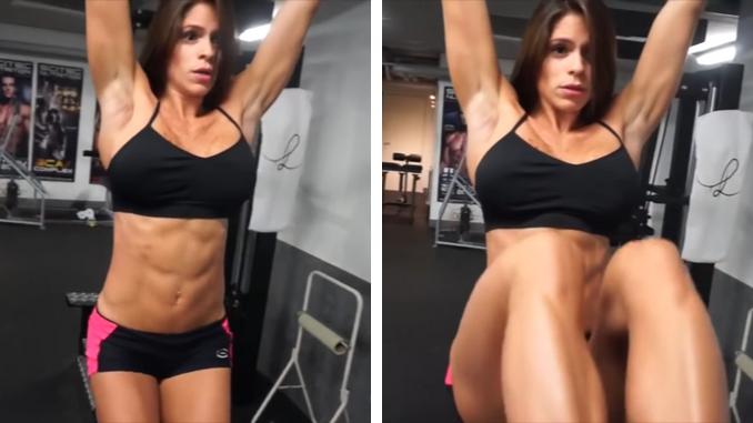 Michelle Lewin - Hanging Leg Raise