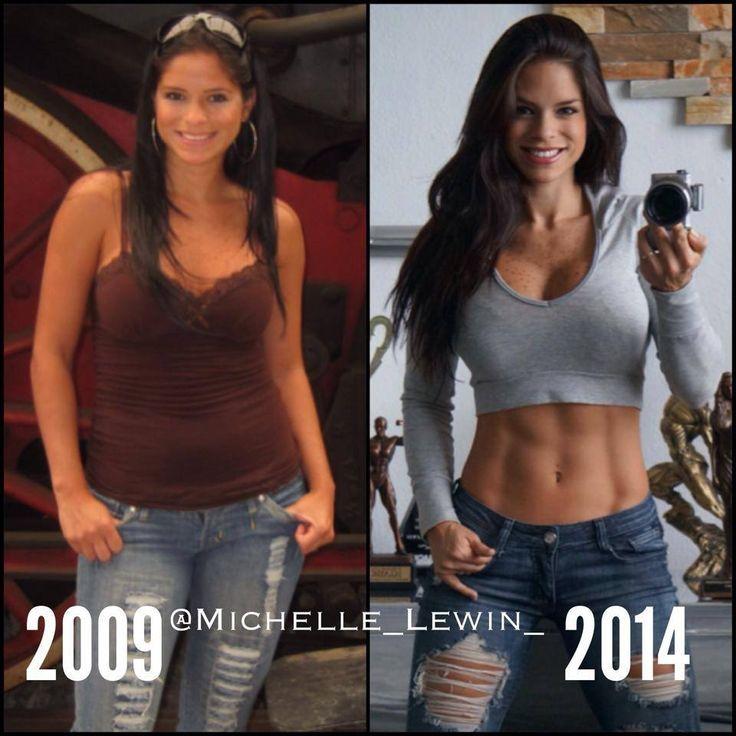 Michelle Lewin prima e dopo 2009-2014