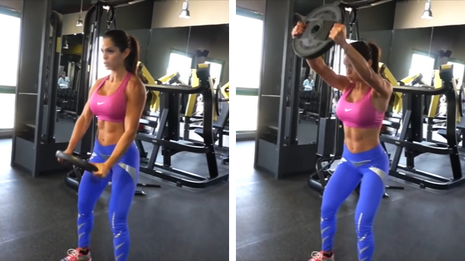 Michelle Lewin - Shoulders - Front Plate Raise