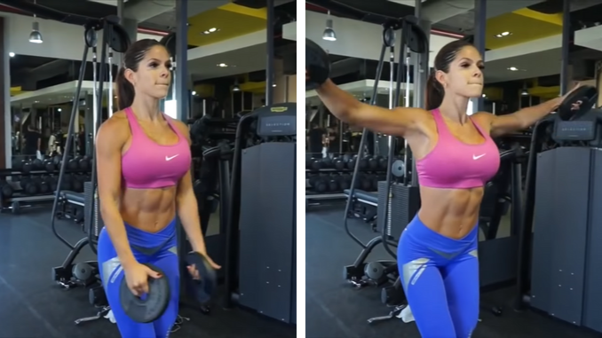 Michelle Lewin - Shoulders - Lateral Plate Raise