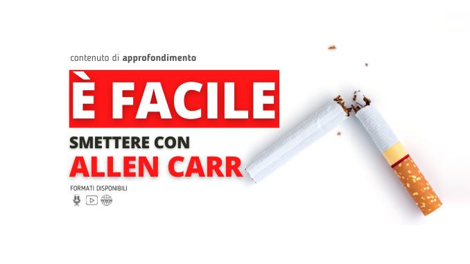 Immagine in Evidenza Articolo base Allen Carr metodo per smettere di fumare