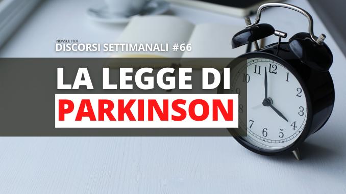 Immagine in Evidenza La legge di Parkinson_v5